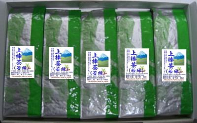 上棒茶(若緑)200g5本組セット
